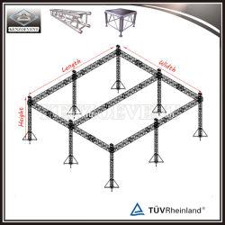 6 столпов освещение опорной системы на плоскую крышу опорных
