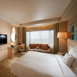 Hotel moderno de conjuntos de muebles de dormitorio madera maciza