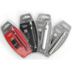 Stylo Vape de haute qualité Kit de batterie La batterie de préchauffage de la CDB 350mAh Batterie Vape Twist VV