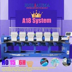 2019新型Ho1506の刺繍機械価格1200の高速Mulitの針6ヘッドA18 Dahaoのコンピュータの刺繍機械