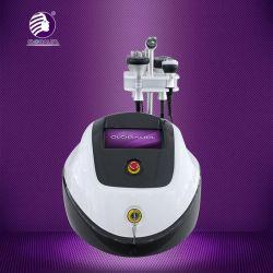 上昇多重極RFの頻度改装を形づけるTripolar超音波のキャビテーションの真空ボディを細くするボディ表面目