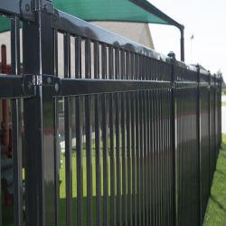 Großhandelsstahlaluminiummetallzaun-Garten-Hof-Sicherheitszaun