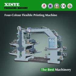 Yt-4800 flexographie 4 couleurs de l'impression Appuyez sur la machine pour impression du film