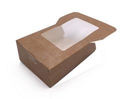 Eco Friendly Le pliage du papier Sandwich poulet sushis du hamburger Emballage