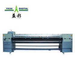 3,2 mètres jet d'encre grand format UV de la production industrielle de la machine d'impression numérique grand imprimante UV Impression sur papier peint