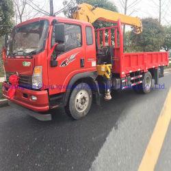 Fabricant de gros de 12 tonnes Hbqz Sq12s4 monté Camion grue hydraulique mobile