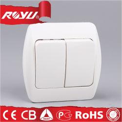 Cheap Wholesale Custom 220V électrique Interrupteur mural en plastique