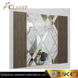 Decoratioveミラーの居間のホテルの建築材料のプロジェクトの壁パネル