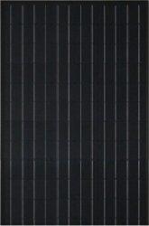55W TUV/Ce/IEC/Mcs 승인되는 까만 Mono-Crystalline 태양 전지판