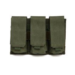 Pochette de munitions Magazine Triple Pack sac nylon imperméable à la taille de la Police militaire Milsilm Airsoft Outdoor Randonnées pédestres Sports Voyage quotidien