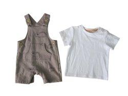 De Broek van de Slab van de Jongen van de Kleding van de zuigeling plotseling en het 2-stuk van de T-shirt Kostuum