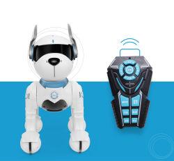 2019 Programme Intelligent RC de la musique Jouet éducatif de l'enseignement précoce de Chien Robot avec l'imiter une variété de sons des animaux