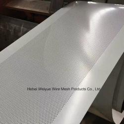 Custom gravée en métal perforé l'écran du disque du filtre à mailles