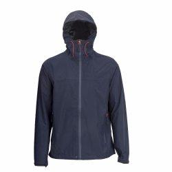 남자의 두건이 있는 스포츠용 잠바 옥외 여행 방수 재킷 Wr 우천용 의류