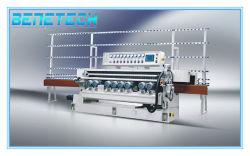 Linha reta de vidro máquina biselamento com 11 Motors