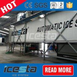 Recipiente de congelação de armazenamento de alimentos para a estância de esqui