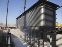 فولاذ زنك غلاية/فولاذ زنك إناء مع غاز تدفئة خارجيّة/يغلفن