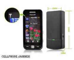 Портативная Mini Mobile мобильный телефон GSM/CDMA/DC/PHS/3G/сигнал GPS перепускной Blocker W/ встроенные антенны