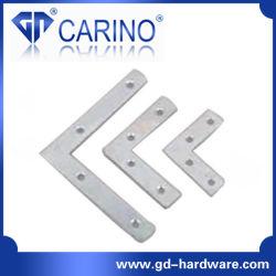 (W537) 90 Degré du métal Wall Hanging renfort de coin plat