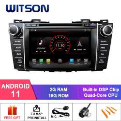 마즈다 5를 위한 Witson 쿼드 코어 Android 11 차량용 DVD GPS 1080p HD 비디오 멀티미디어