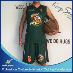 Personifizierte nach Maß volle Sublimation-Basketball-Uniform-Sets