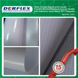 Preço baixo materiais de impressão no exterior brilhante Publicidade Banner Flex com luz de fundo