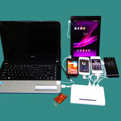 Digitals (FC167B)를 위한 경이로운 셀룰라 전화 Anti-Theft 표시 장치