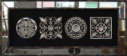 Shadow BoxのHome DecorationのInterior DecorのためのWoodcarvingのハングのWood Frame