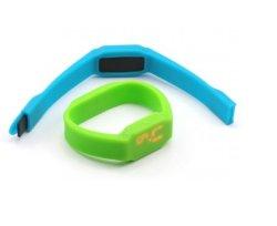LEIDENE van Wih van de Aandrijving van de Flits van de Armband USB van het silicone Lichten (om-P155)