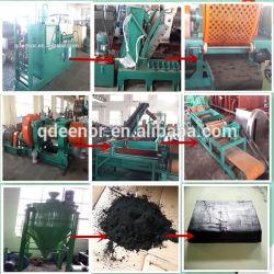 Machine automatique de recyclage des pneus usés