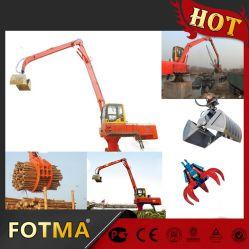 Manipulador de material de diesel com Log agarrar