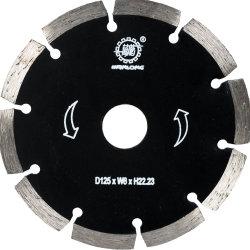 La lame de coupe de diamant pour l'angle d'une meuleuse