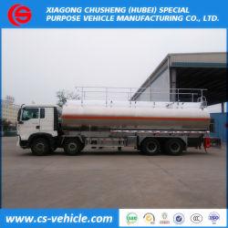 Camion del serbatoio di combustibile della lega di alluminio del camion della petroliera di HOWO 35000L