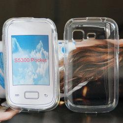 Pour Samsung Galaxy Pocket S5300 Pleine Transparent cas Téléphone cellulaire