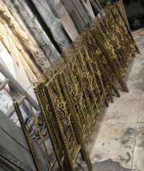 Galvanizados a quente personalizadas de ferro forjado Varanda Metal grades de ferro forjado do trilho para jardim casa residêncial de ferro forjado cercas, Varanda trilhos, balaustrada
