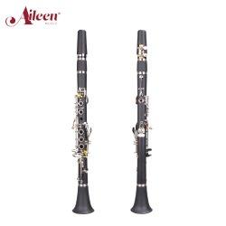 Venda por grosso de alta qualidade Aileenmusic Teclas 17 Clarinete (CL-C4503N)
