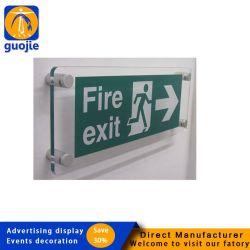 Personnalisé porte en acrylique personnalisé de société les panneaux en acrylique