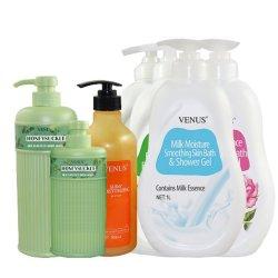 Gel douche parfumé les pores exfolient la peau hydratante Soin tendre et lisse corps entier nettoyage usine cosmétique
