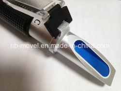 Beweglicher Aluminiumhauptgummigriff-Entwurf des Zuckerberechnungsmesser-0-32 Brix mit ATC