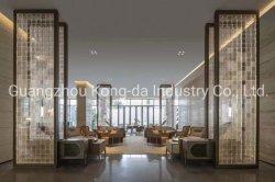 Material acrílico Hotel Lobby de Hotel Estrela do divisor