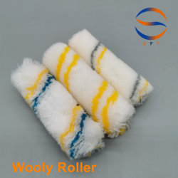 Rodillo de pintura mini-rodillo de colores para plastificado de resina de fibra de vidrio FRP