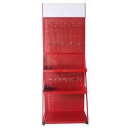 El Equipo de Publicidad tienda Soporte de pantalla pantalla gradilla de acero de rack