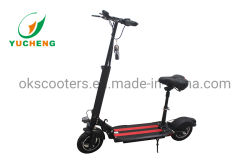 Intelligenter Falz-elektrischer Roller des Stadt-elektrischer Mobilitäts-Roller-500W 48V