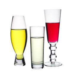 За Круглым столом в нижней части рельефная Высокая поясная открыть шампанского Lead-Free соды лимонный коктейль из стекла для сока из стекла