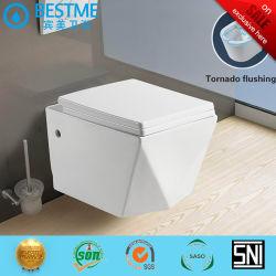 Salle de bains à bon marché de gros de lavage mur accroché toilette portative BC-1112D