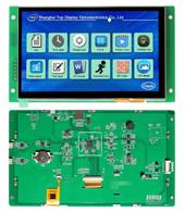 CVBS ЖК монитор с диагональю 10,1 дюйма 1024*600 Uart последовательного Tn ЖК-дисплей