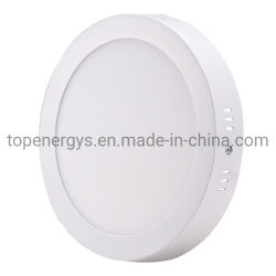 Не разрезать потолочный 25W поверхностного LED затенения Круглые лампы панели SMD Ультра тонкий круг потолочный светильник вниз кухня