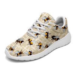 Dropshipping Custom Cool Imprimer respirante unisexe Poids léger Coup de patins Fashion Sneakers de confortables chaussures de course