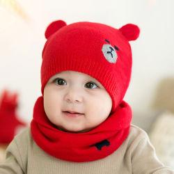 Stock Skin-Friendly Bébé Enfant Hiver chapeaux chaud avec des oreilles Beanie Chapeau tricoté Girls Boys
