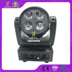 4X12W RGBW 4-in-1 LED-sproeistraal bewegende koplamp